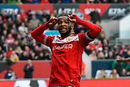 Kasey Palmer (45) of Bristol City shows his frustration during the The FA Cup 5th round match between Bristol City and Wolverhampton Wanderers at Ashton Gate, Bristol, England on 17 February 2019.