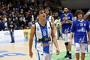 DESCRIZIONE : Capo dOrlando Lega A 2015-16 Betaland Orlandina Basket Vanoli Cremona<br /> GIOCATORE : Tommaso Laquintana<br /> CATEGORIA : Delusione Ritratto<br /> SQUADRA : Betaland Orlandina Basket<br /> EVENTO : Campionato Lega A Beko 2015-2016 <br /> GARA : Betaland Orlandina Basket Vanoli Cremona<br /> DATA : 15/11/2015<br /> SPORT : Pallacanestro <br /> AUTORE : Agenzia Ciamillo-Castoria/G.Pappalardo<br /> Galleria : Lega Basket A Beko 2015-2016<br /> Fotonotizia : Capo dOrlando Lega A Beko 2015-16 Betaland Orlandina Basket Vanoli Cremona
