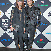 NLD/Amsterdam/20151012 - MTV EMA Pre Party, Tears & Marble - Bella Hay and Cris Kuhlen