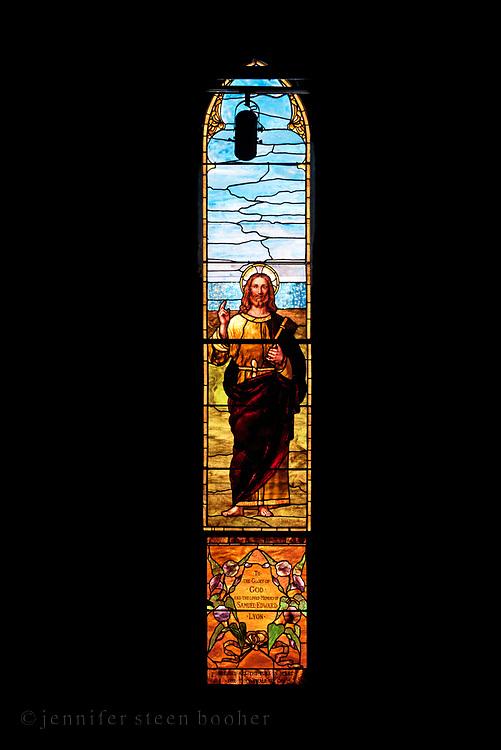 Window 8 on plan. <br /> <br /> Saint Saviour's Episcopal Church, Bar Harbor, Maine.