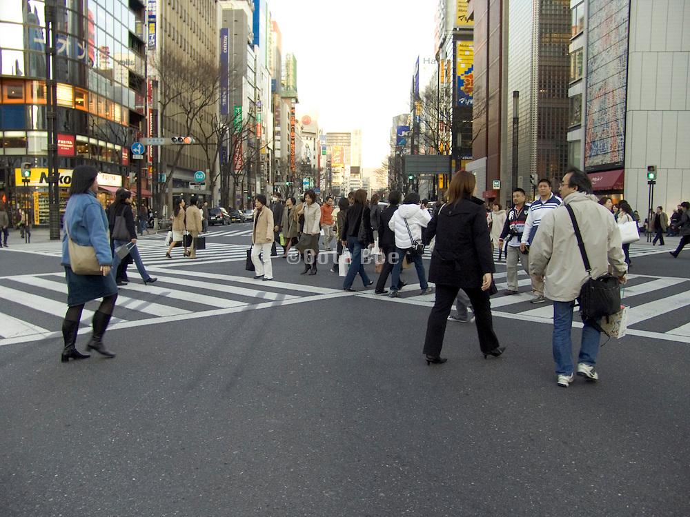 Ginza Yurakuchiyo area Tokyo