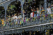 Nature, Travel Photographer and Landscape Photography from Randy Wells, Image of Mardi Gras celebration in the French Quarter of New Orleans, Louisiana, American South by Randy Wells