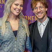 NLD/Amsterdam/20181030 - Premiere Bohemian Rapsody, Celine Huisman en Giel Beelen