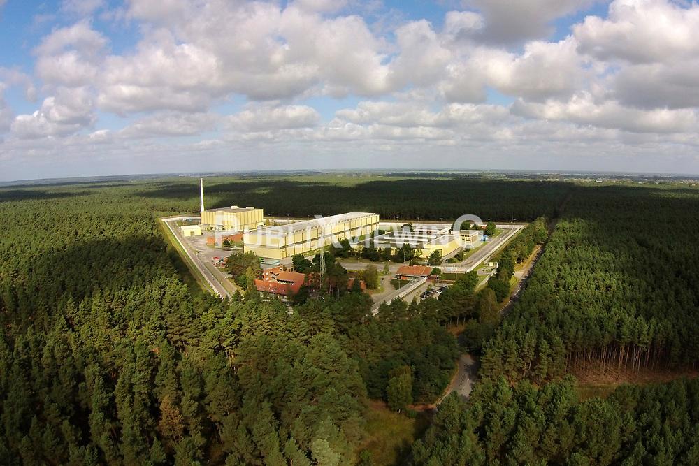 Luftaufnahme des Zwischenlagers für hochradioaktiven Atommüll in Gorleben.<br /> <br /> Ort: Gorleben<br /> Copyright: unbekannt<br /> Quelle: PubliXviewinG