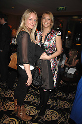 Left to right, NATHALIE BURGEN and the HON.TANYA HAMILTON-SMITH  at an exhibition of photographs by Olivia Buckingham held at China Tang, The Dorchester, Park Lane London on 5th March 2007.<br /><br />NON EXCLUSIVE - WORLD RIGHTS