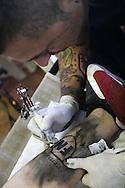 Campo d'Azione 2006 di Forza Nuova a Marta (VT).Oltre al programma di incontri è stata riservata una zona per i tatooes. In addition to the schedule of meetings was an area reserved for tatooes. stata riservata una zona per i tatooes.In addition to the schedule of meetings was an area reserved for tatooes. meeting of forza nuova, raduno forza nuova