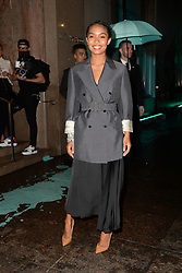 May 3, 2018 - New York, NY, USA - May 3, 2018  New York City..Yara Shahidi attending Tiffany & Co. 'Paper Flowers' jewelry collection launch on May 3, 2018 in New York City. (Credit Image: © Kristin Callahan/Ace Pictures via ZUMA Press)