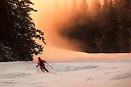 Ski slope of Borovets resort