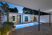 Miami Courtyard House by K/R with Landscape by Raymond Jungles