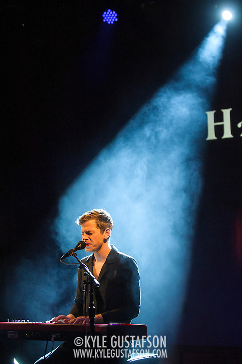 WASHINGTON, DC - October 9th, 2014 - Perfume Genius perform at The Hamilton in Washington, D.C. His third album, Too Bright, was released in September. (Photo by Kyle Gustafson / For The Washington Post)