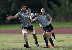 November 20, 2018 - Rome, Italy - Rugby All Blacks training - Vista Norther Tour.Team training at University Sport Center in Rome, Italy on November 20, 2018. (Credit Image: © Matteo Ciambelli/NurPhoto via ZUMA Press)