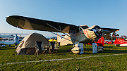 1935 Stinson SR5E Reliant at Hood River Fly-In.
