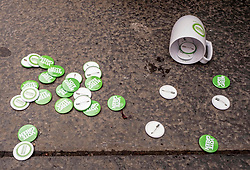 Pictured: <br />Scottish Green Party co-leader Lorna Slater and Lothian MSP Alison Johnstone joined Edinburgh General Election candidates as they canvased voters..<br /><br />Ger Harley | EEm 12 November 2019