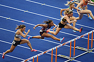 Solene Ndama competes in women 100m hurdles during the European Championships 2018, at Olympic Stadium in Berlin, Germany, Day 3, on August 9, 2018 - Photo Philippe Millereau / KMSP / ProSportsImages / DPPI
