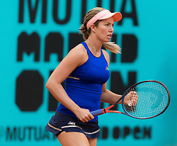 May 6, 2019 - Madrid, MADRID, SPAIN - Danielle Collins of the United States in action during her second-round match at the 2019 Mutua Madrid Open WTA Premier Mandatory tennis tournament (Credit Image: © AFP7 via ZUMA Wire)