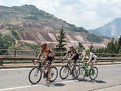 07.07.2015, Windischgarsten, AUT, Österreich Radrundfahrt, 3. Etappe, Windischgarsten nach Judendorf, im Bild v.l. Johnny Hoogerland (NED), Michael Gogl (AUT), Dominik Hrinkow (AUT) am Präbichl vor dem Erzberg // f.l.t.r. Johnny Hoogerland of Nederlands Michael Gogl of Austria Dominik Hrinkow of Austria at Präbichl mountain during the Tour of Austria, 3rd Stage, from Windischgarsten to Judendorf, Windischgarsten, Austria on 2015/07/07. EXPA Pictures © 2015, PhotoCredit: EXPA/ Reinhard Eisenbauer