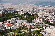 View of Athens, Greece from the Acropolis