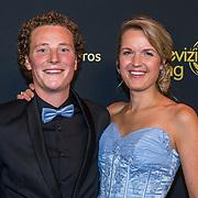 NLD/Amsterdam/20191009 - Uitreiking Gouden Televizier Ring Gala 2019,  Boer Wim en Marit