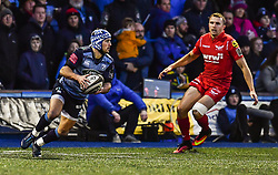 Cardiff Blues' Matthew Morgan in action - Mandatory by-line: Craig Thomas/Replay images - 31/12/2017 - RUGBY - Cardiff Arms Park - Cardiff , Wales - Blues v Scarlets - Guinness Pro 14