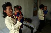 Yonsan County hospital - Pediatric ward.<br /> North Hwanghae Province<br /> <br /> <br /> <br /> <br /> ©Jeremy Horner<br /> 15 Mar 2004