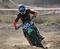 Wasilkow, woj podlaskie, 17.10.2010. N/z zawody motocrossowe okregu bialostockiego fot Michal Kosc / AGENCJA WSCHOD