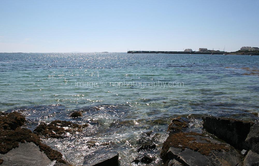 from beach near Ballyconneely Connemara County Galway Ireland