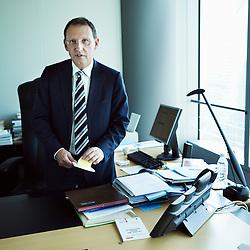 PARIS, FRANCE. JULY 26, 2012. Pierre Mariani, Chief Executive Officer of Dexia SA. Photo: Antoine Doyen