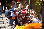 Koninginnedag 2007 in 's Hertogenbosch / Queensday 2007 in the city of 's Hertogenbosch <br /> <br /> Op de foto / On the Photo; Prinses Laurentien en Prins Constantijn ,<br /> <br /> Prinses Aimee en Prins Floris ,<br /> <br /> Prinses Annette en Prins Bernhard ,<br /> <br /> Prinses Mabel en Prins Friso ,<br /> <br /> Prof.mr. Pieter van Vollenhoven en  Prinses Margriet ,<br /> <br /> Prins Willem Alexander <br /> <br /> Prinses Anita en Prins Pieter Christiaan