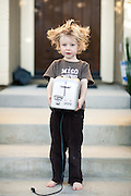 Boy With Crazy Hair