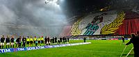 Coreografia tifosi Milan con squadre schierate supporters <br /> Milano 31-01-2016 Stadio Giuseppe Meazza - Football Calcio Serie A Milan - Inter. Foto Giuseppe Celeste / Insidefoto