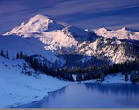 Mount Baker and Iceberg Lake, Mount Baker Wilderness Washington USA