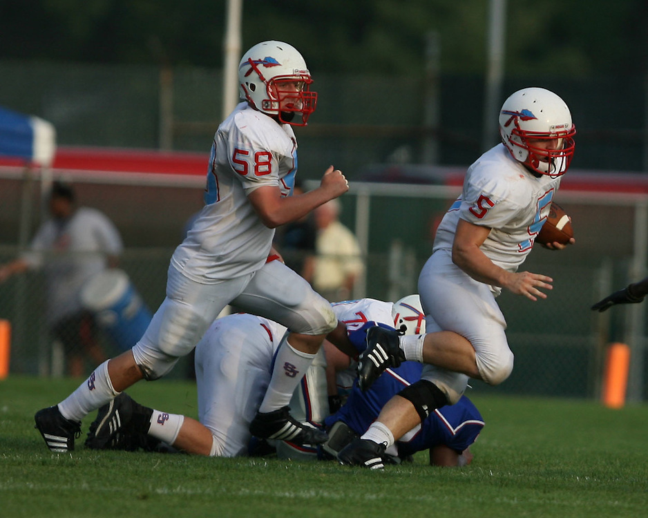 Saint Joseph's High School Varsity Football 2008.Saint Joseph's (17) vs. Adams (14)