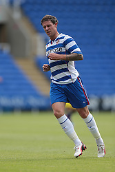 Reading defender Wayne Bridge (18) in action during the pre-season friendly game between Reading and Swansea City.  Photo mandatory by-line: Nigel Pitts-Drake/JMP  - Tel: Mobile:07966 386802 27/07/2013 - Reading v  Swansea City  - SPORT - FOOTBALL - pre-season - Reading - Madejski Stadium