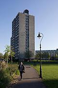 High-rise flats in Kennington Park, Lambeth, South London.