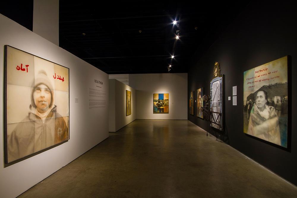 """Us & Them"" Museum Installation at SDAI (San Diego Art Institute) September - November 2018."
