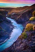 Canyon near El Chalten in Los Glaciares National Park.