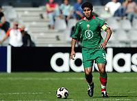 Fotball <br /> FIFA World Youth Championships 2005<br /> Doetinchem<br /> Nederland / Holland<br /> 14.06.2005<br /> Foto: Morten Olsen, Digitalsport<br /> <br /> Marokko v Honduras<br /> <br /> Youssef Rabeh - Marokko