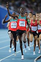 ATHLETICS - IAAF WORLD CHAMPIONSHIPS 2011 - DAEGU (KOR) - DAY 8 - 03/09/2011 - MEN 1500M FINAL - ASBEL KIPROP (KEN) / WINNER - PHOTO : FRANCK FAUGERE / KMSP / DPPI