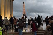 Eiffel Tower, Paris . 9 November 2018