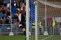 England's Karen Bardsley during the frendly match between woman teams of  Spain and England at Fernando Escartin Stadium in Guadalajara, Spain. October 25, 2016. (ALTERPHOTOS/Rodrigo Jimenez)