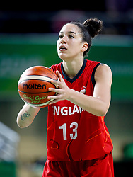 England's Azania Stewart in action in the Women's Gold Medal Game at the Gold Coast Convention and Exhibition Centre during day ten of the 2018 Commonwealth Games in the Gold Coast, Australia.