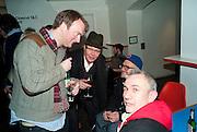 NATHANIEL MELLORS; NICHOLAS LOGSDAIL; RYAN GANDER; ROBIN KLASSNIK, , Ourhouse Nathaniel Mellors opening. ICA. The Mall. London. 8 March 2011. -DO NOT ARCHIVE-© Copyright Photograph by Dafydd Jones. 248 Clapham Rd. London SW9 0PZ. Tel 0207 820 0771. www.dafjones.com.