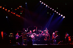 The Grateful Dead in a Dark Star jam into Drums at the Nassau Coliseum, Uniondale NY, 29 March 1990
