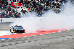 April 8, 2018 - Fort Worth, TX, U.S. - FORT WORTH, TX - APRIL 08: Monster Energy NASCAR Cup Series driver Kasey Kahne (95) slides down the front stretch during the O'Reilly Auto Parts 500 at the Texas Motor Speedway in Fort Worth, Texas. (Photo by Matthew Pearce/Icon Sportswire) (Credit Image: © Matthew Pearce/Icon SMI via ZUMA Press)