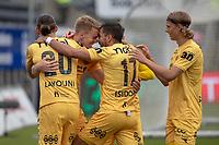 Fotball , 8. juli 2018 , Eliteserien , Bodø/Glimt - Brann<br /> Kristian Opseth , Glimt jubel scoring