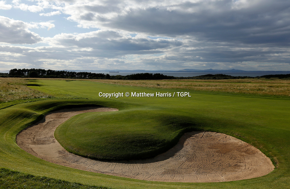 1st par 4 Muirfield,The Honourable Company Of Edinburgh Golfers,Gullane,East Lothian,Scotland.Venue for the 2013 Open Championship,with Ernie ELS (RSA) defending his title,and who was also the winner here in 2002.
