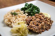 Macrobiotic dinner by master chef Mayumi Nishimura.<br /> <br /> Photographer: Christina Sjogren<br /> Copyright 2019, All Rights Reserved