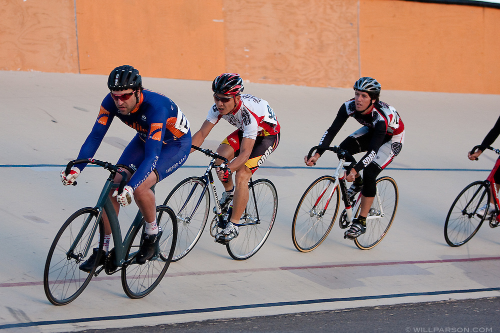 Tuesday Night Racing at the San Diego Velodrome on May 5, 2009.