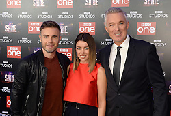 Gary Barlow, Dannii Minogue and Martin Kemp attending the BBC Let It Shine launch, The Ham Yard Hotel, London. Picture Credit Should Read: Doug Peters/EMPICS Entertainment