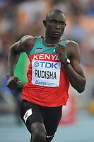 ATHLETICS - IAAF WORLD CHAMPIONSHIPS 2011 - DAEGU (KOR) - DAY 2 - 28/08/2011 - PHOTO : STEPHANE KEMPINAIRE / KMSP / DPPI - <br /> 800 M - MEN - DAVID RUDISHA (KEN)
